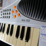 電子キーボード(MA-150)を86円でゲット