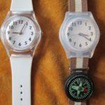 キャンドゥのアナログ腕時計は白濁する