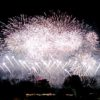 昭和記念公園:晩秋の花火